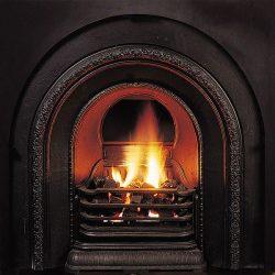 Nectre Gas Flame Inbuilt Gas Fireplace