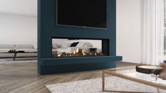 Escea Ds1400 Inbuilt Gas Log Fireplace Sale Hawkesbury Heating