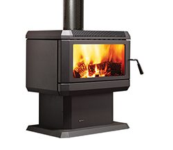 Regency Hume Freestanding Wood Fireplace
