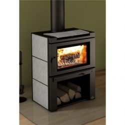 Osburn Matrix Freestanding Wood Fireplace