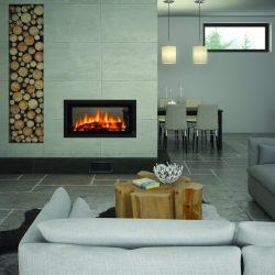 Regency Mansfield Double Sided Wood Fireplace