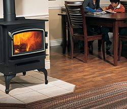 Regency Vancouver Freestanding Wood Fireplace