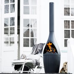 Morso Kamino Cast Iron Outdoor Fireplace