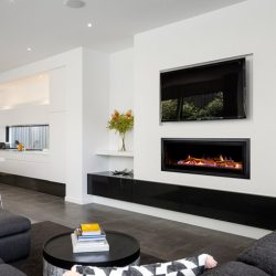 Heatmaster Seamless Inbuilt Gas Fireplace