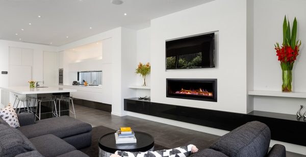 Heatmaster Seamless Inbuilt Gas Fireplace Hawkesbury Heating