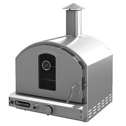 Gas Mate Stainless Steel Deluxe Pizza Oven