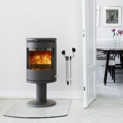 Morso 7648 Freestanding Wood Fireplace