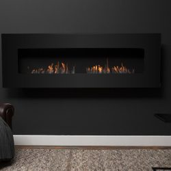 Icon Nero 1750 Wall Fire