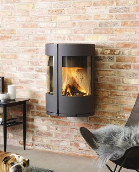 Morso 6670 Wall Mounted Wood Fireplace Hawkesbury Heating