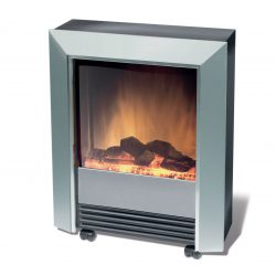 Dimplex Lee Silver Electric Fire