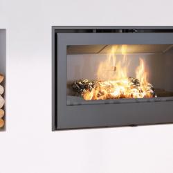 Axis I1000IB Inbuilt Wood Fireplace