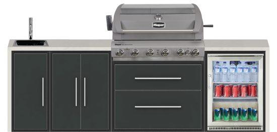 Non Ethanol Gas >> Masport Super Grande RBW 210 Inbuilt BBQ - Hawkesbury Heating