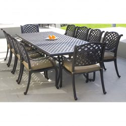 Melton Craft Nassau 11 Piece Dining Setting