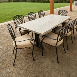 Melton Craft Whitehorse Dining with Clifton Table