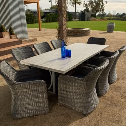 Melton Craft Miami 9 Piece Dining Setting