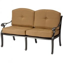 Melton Craft Nassau Deep 2 Seater Lounge with Cushions