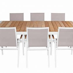 Shelta Leura 9 Piece Dining Setting