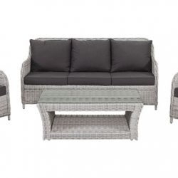 Shelta Delaware 4 Piece Delux Sofa Setting