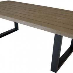 Shelta Kobe Timber & Cement Table