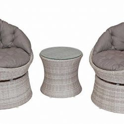 Shelta Rosemead 3 Piece Chat Setting