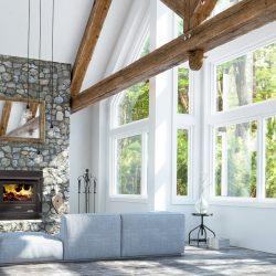Arrow 2000 Inbuilt Wood Fireplace