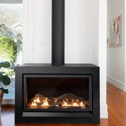 Heatmaster Enviro Freestanding Gas Fireplace