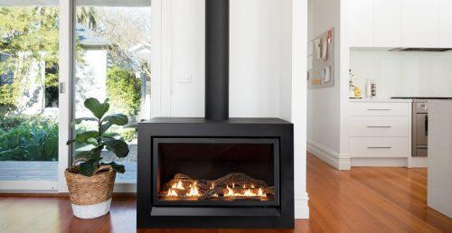 Heatmaster Enviro Freestanding Gas Fireplace Hawkesbury Heating