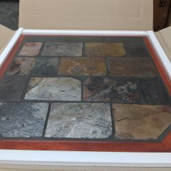 Maxiheat Tiled Multicolour Hearth