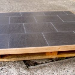 Underfire Slate Hearth Timber Edge