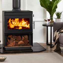 Kent Calisto Medium Freestanding Wood Fireplace