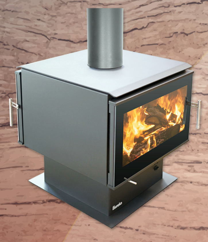 Eureka Jewel Double Sided Wood Fireplace Hawkesbury Heating