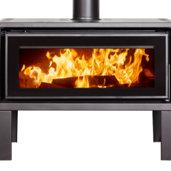 Kent Geo Freestanding Wood Fireplace