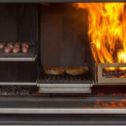 Escea EK1550 Outdoor Kitchen Fireplace
