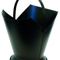 Large Tapered Wood Bucket