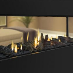 Escea DS1900 Inbuilt Gas Log Fireplace