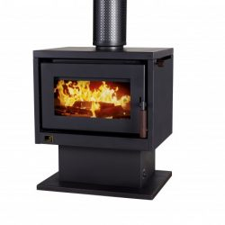 Kent Country Classic MKII Freestanding Wood Fireplace