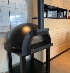 Zesti ZSR1100 Wood Fire Pizza Oven with Trolley