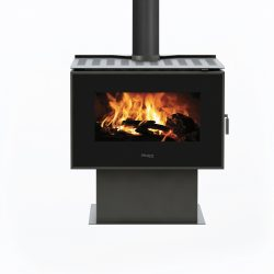Masport Creswick Freestanding Wood Fireplace