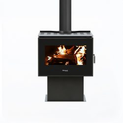 Masport Clunes Freestanding Wood Fireplace
