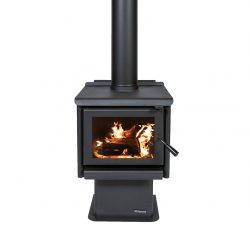 Masport Rosewood Freestanding Wood Fireplace