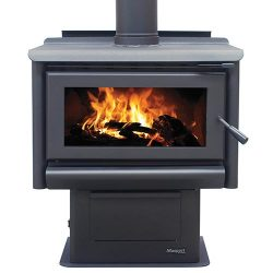 Masport Riverstone Freestanding Wood Fireplace
