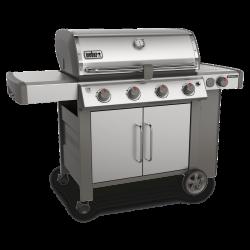 Weber Genesis II S-455 Premium Stainless Steel