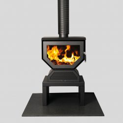 Coonara Woody Tabletop Freestanding Wood Fireplace